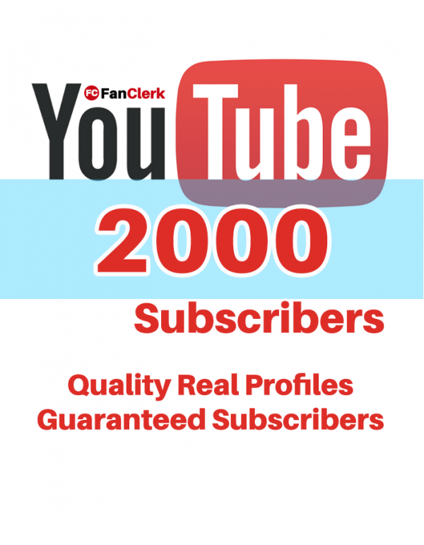 buy youtube subscribers 2000