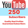 buy youtube subscribers 250