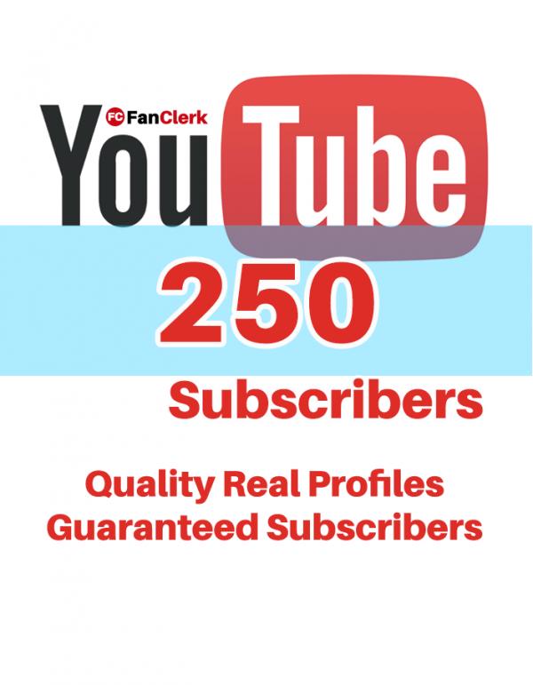 buy youtube subscribers 250