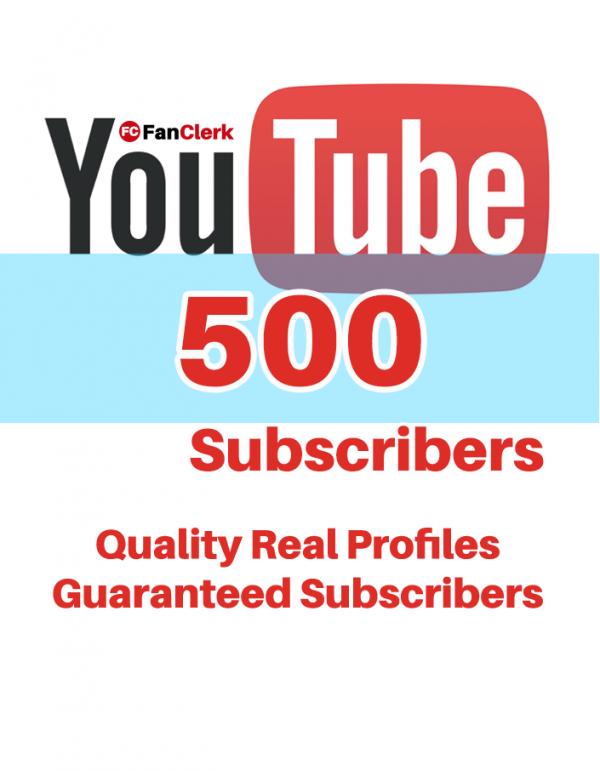 buy youtube subscribers 500