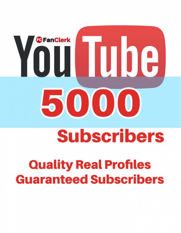 buy youtube subscribers 5000