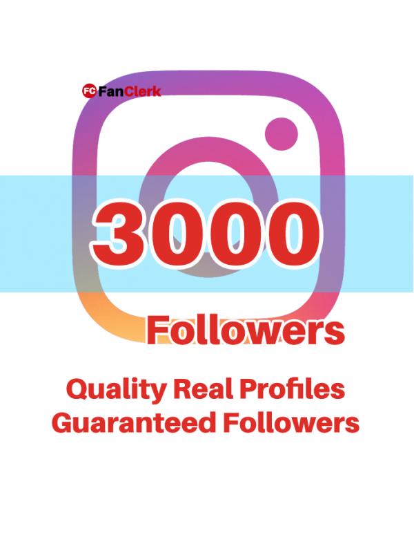 buy instagram followers 3000
