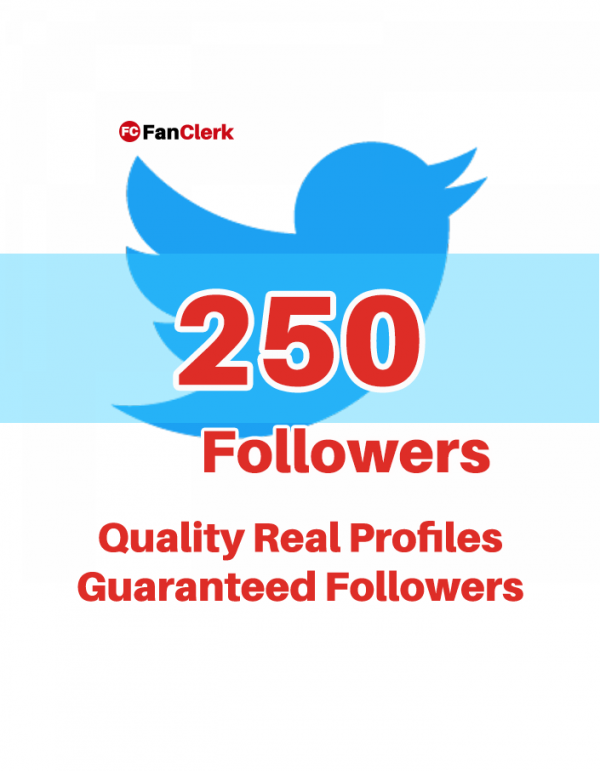 buy twitter followers 250