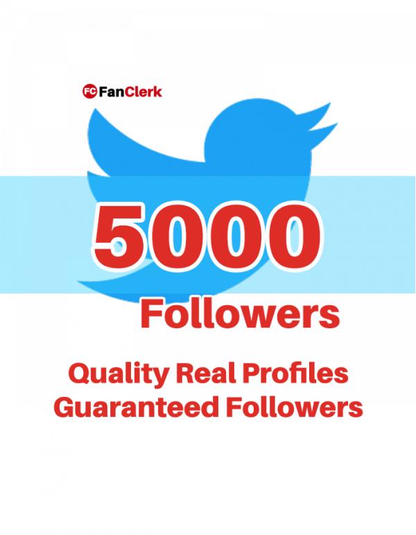 buy twitter followers 5000